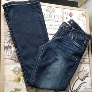 NICE* Maurices Dark Wash Short Bootcut Jeans